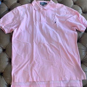 Pink polo Ralph Lauren